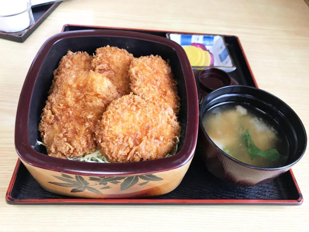 みかわ名物 鳥ソースカツ丼